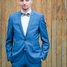 Vintage Anzug Blau