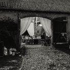 Scheune Vintagehochzeit, Hochzeitsfotos von MiKe's Hochzeitsfotograf