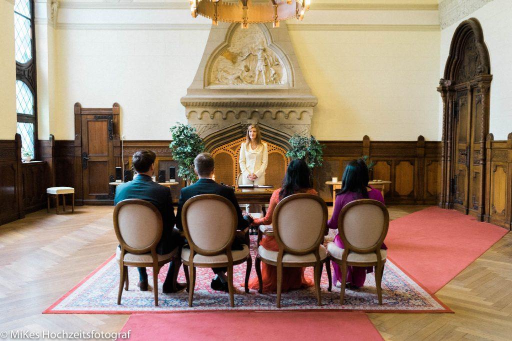 Trauung im Standesamt, Hochzeitsfotos von MiKe's Hochzeitsfotograf