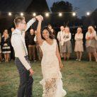 Hochzeitstanz am Abend fotografiert von MiKe's Hochzeitsfotograf