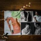 Hochzeits-Fotobuch mit belichteten Seiten